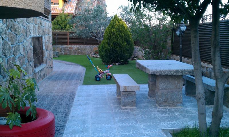 Jardín - Chalet en alquiler en calle Real, Becerril de la Sierra - 117225658