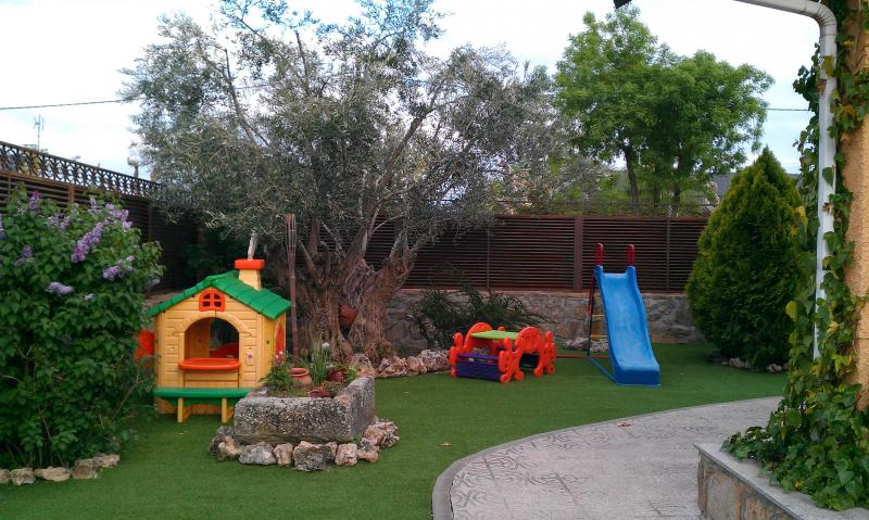 Jardín - Chalet en alquiler en calle Real, Becerril de la Sierra - 117225693
