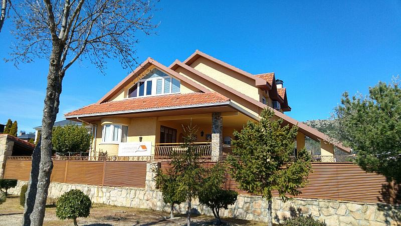 Fachada - Chalet en alquiler en calle Real, Becerril de la Sierra - 264457866