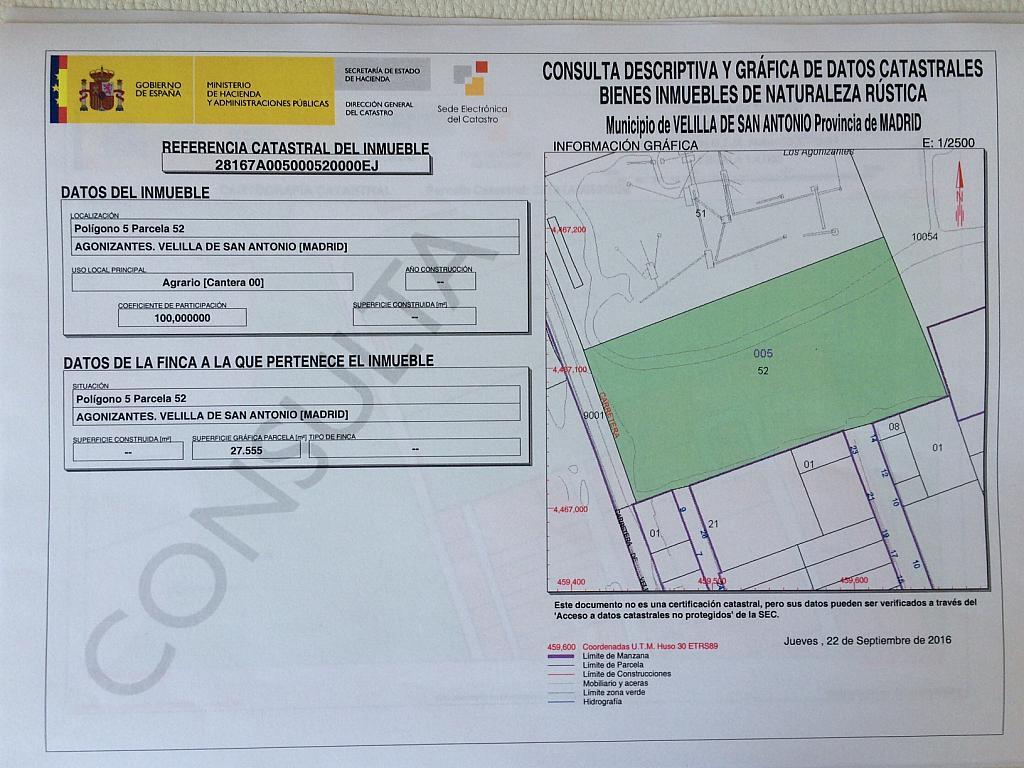 Plano - Terreno en alquiler en carretera Velilla a Arganda, Velilla de San Antonio - 325281881
