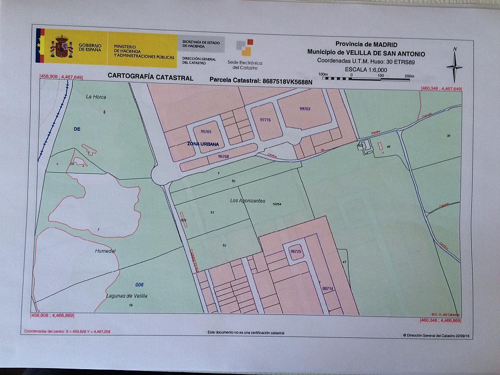 Plano - Terreno en alquiler en carretera Velilla a Arganda, Velilla de San Antonio - 325281920