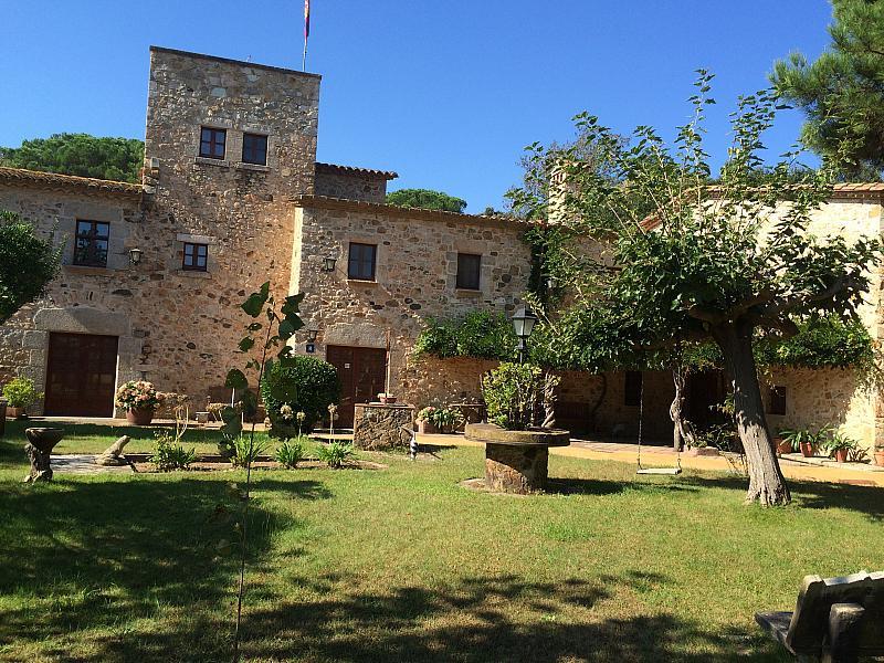 Jardín - Restaurante en alquiler en barrio , Santa Cristina d´Aro - 156256679