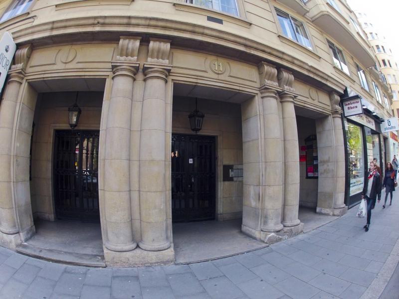 Fachada - Despacho en alquiler en calle Gran Via, Paseo Sagasta en Zaragoza - 117411519