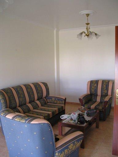 Salón - Casa en alquiler de temporada en calle Quilmas, Carnota - 117840662