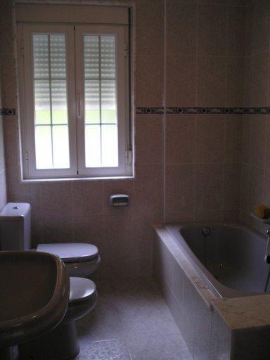 Baño - Casa en alquiler de temporada en calle Quilmas, Carnota - 117840664
