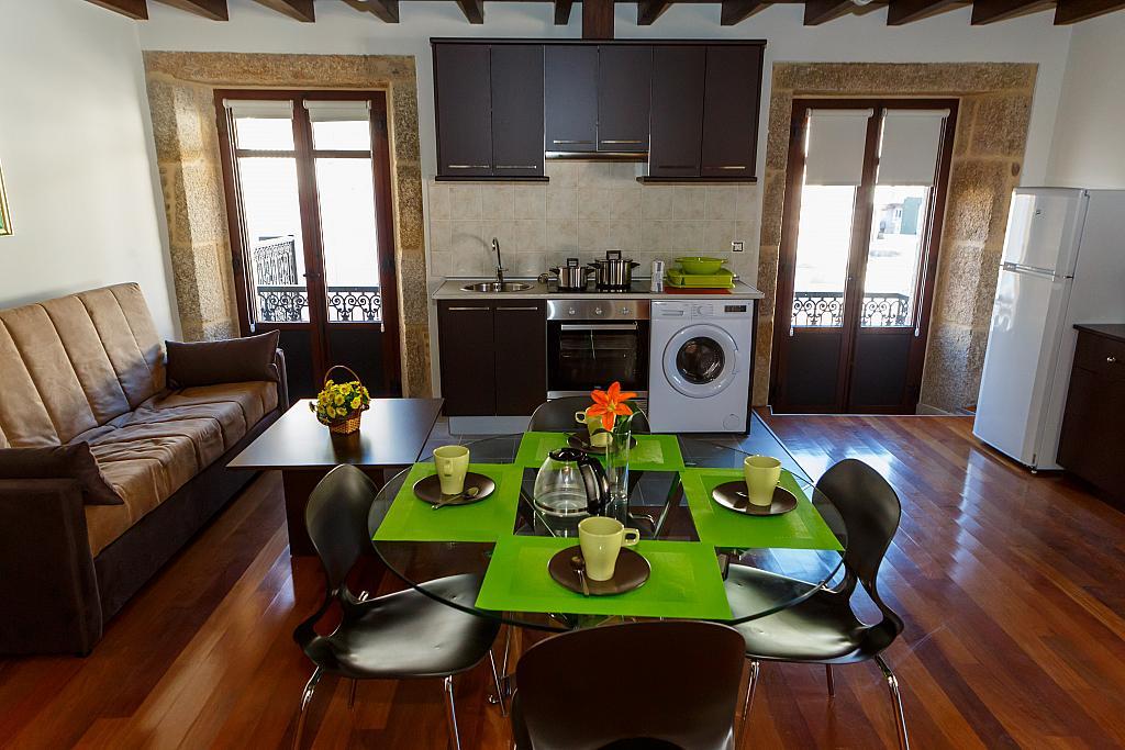 Cocina - Apartamento en alquiler de temporada en plaza Pindo Sur, Carnota - 315663681