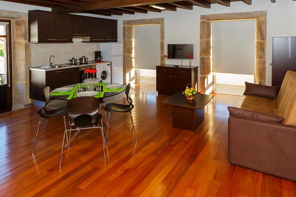 Comedor - Apartamento en alquiler de temporada en plaza Pindo Sur, Carnota - 315663695