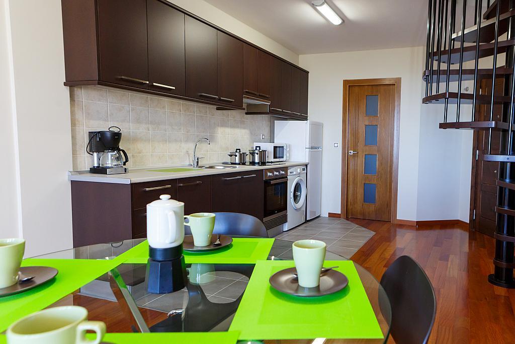 Cocina - Apartamento en alquiler de temporada en plaza Pindo Sur, Carnota - 315663993