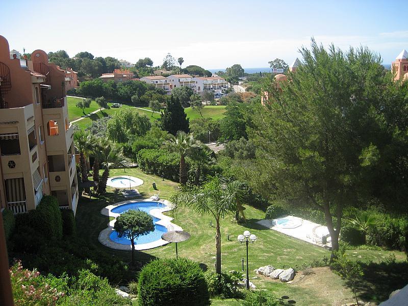 Vistas - Apartamento en alquiler de temporada en urbanización Conjunto Amatista, Divina Pastora en Marbella - 173094733
