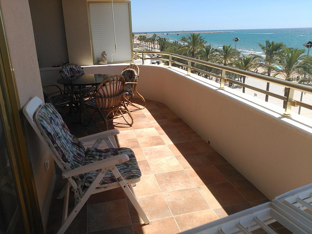 Terraza - Piso en alquiler de temporada en calle Joan Salvat Papasseit, Mas Mel en Calafell - 311813220