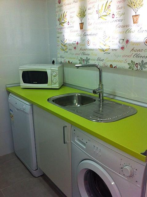 Cocina - Apartamento en alquiler de temporada en edificio Riaño, Alcalá de la Selva - 134348217
