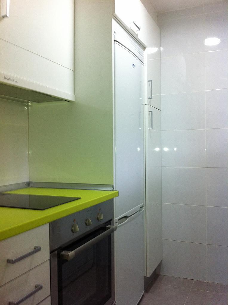 Cocina - Apartamento en alquiler de temporada en edificio Riaño, Alcalá de la Selva - 134348432