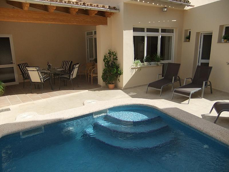 Piscina - Casa en alquiler de temporada en calle Major, Ariany - 254430759