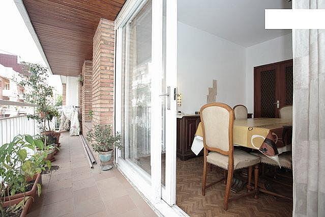 Terraza - Piso a compartir en calle Agregacio, El Guinardó en Barcelona - 332012608