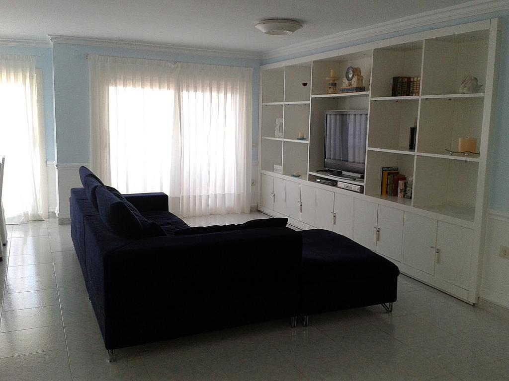 Salón - Apartamento en alquiler en urbanización La Olla, Altea - 355065576