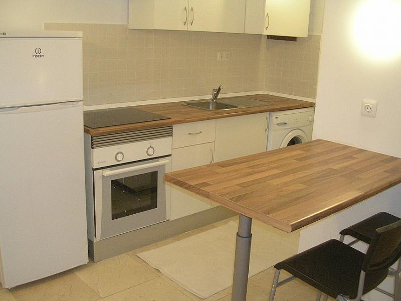 Cocina - Estudio en alquiler en calle España, Tabaiba - 123810714
