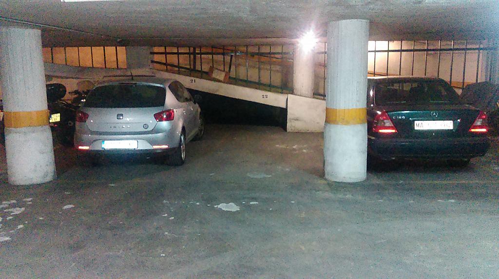 Parking - Garaje en alquiler en calle Fajardo, Centro histórico en Málaga - 324874629
