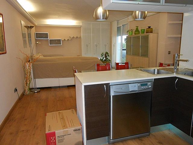 Cocina - Apartamento en alquiler en carretera Del Far, Cap salou en Salou - 313749775