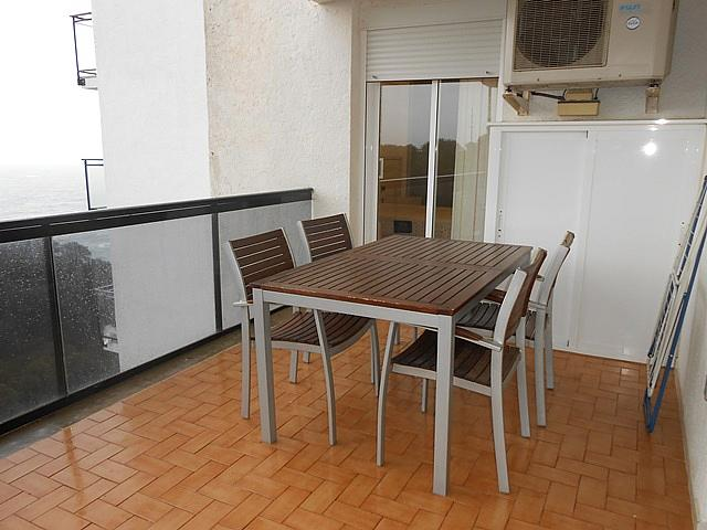 Terraza - Apartamento en alquiler en carretera Del Far, Cap salou en Salou - 313749791