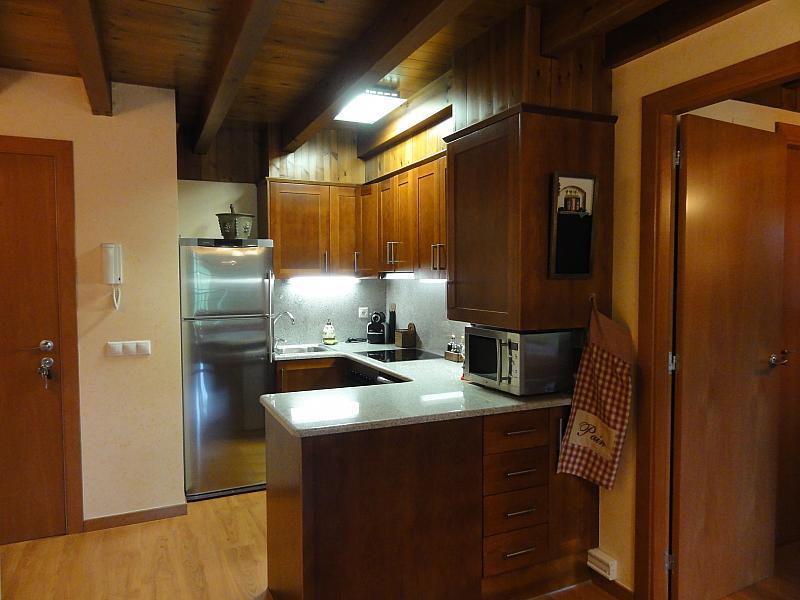 Cocina - Apartamento en venta en calle Fontcanaleta, Alp - 144869411