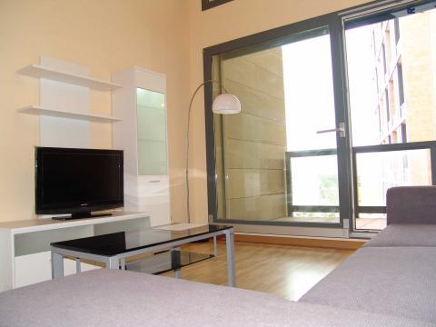 Salón - Loft en alquiler en calle De Las Jacarandas, Burjassot - 21516832