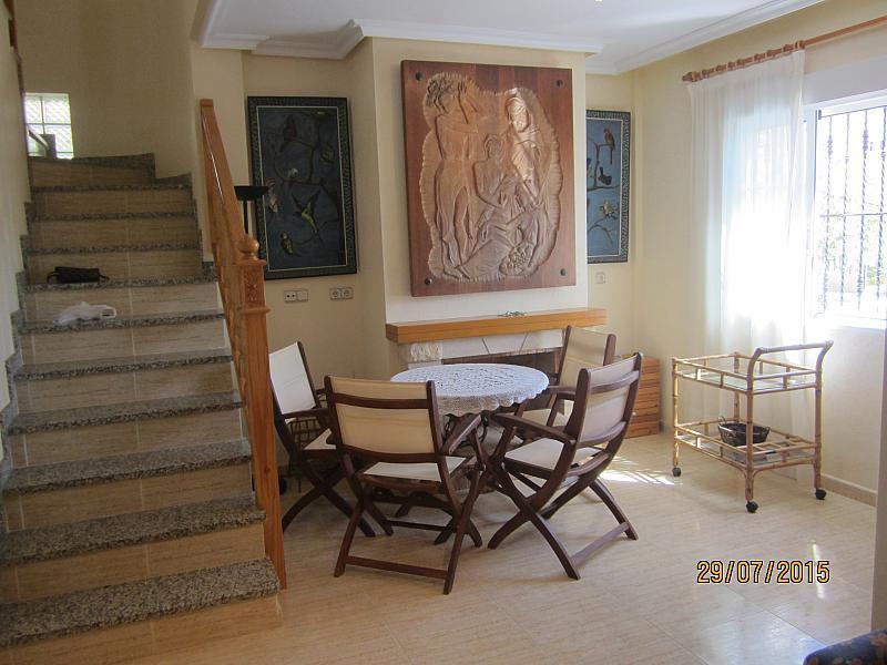 Salón - Chalet en alquiler de temporada en calle Báltico, Orihuela-Costa - 213608548