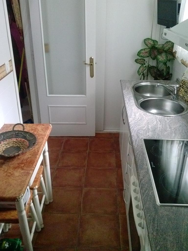 Cocina - Piso en alquiler en calle Uruguay, La barriada Rio San Pedro en Puerto Real - 141918141