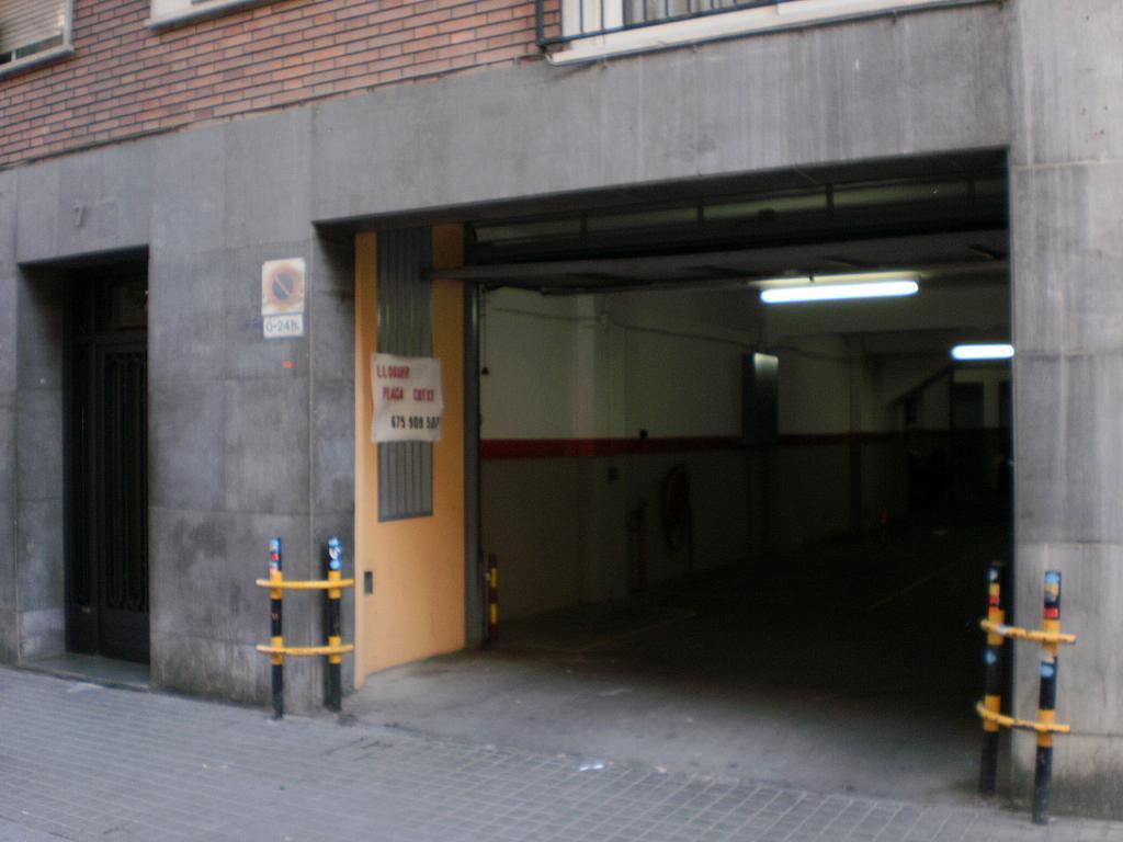 Fachada - Parking en alquiler en calle Princep Jordi, Hostafrancs en Barcelona - 327214249