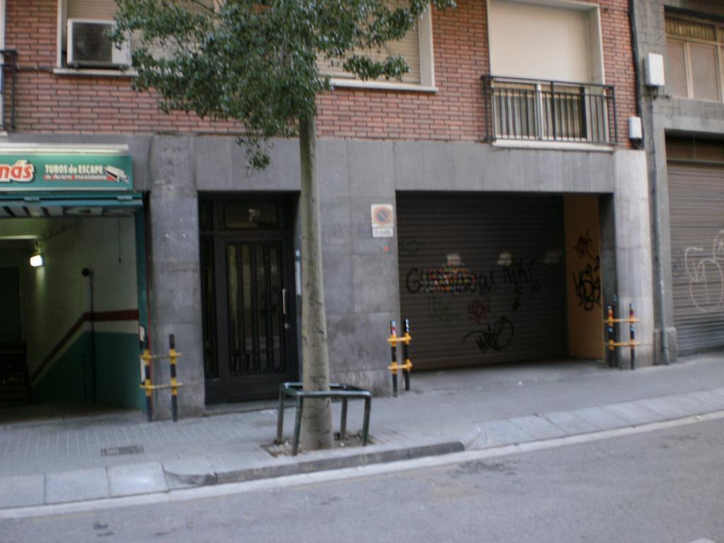 Fachada - Parking en alquiler en calle Princep Jordi, Hostafrancs en Barcelona - 327214269