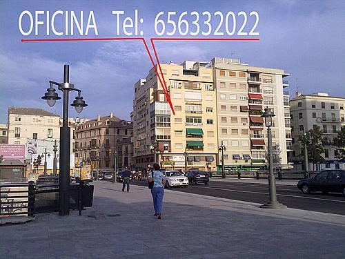 Fachada - Oficina en alquiler en calle Prim, Centro histórico en Málaga - 286928086