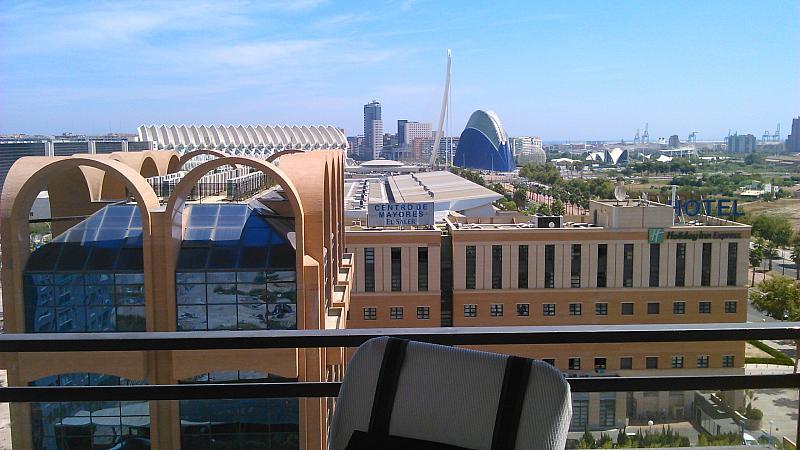 Vistas - Apartamento en alquiler de temporada en calle General Urrutia, Ciutat de les Arts i les Ciències en Valencia - 149136954