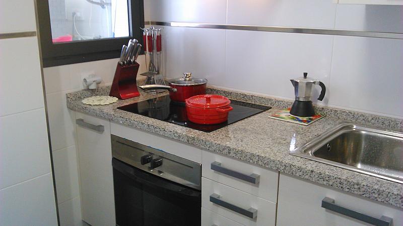 Cocina - Apartamento en alquiler de temporada en calle General Urrutia, Ciutat de les Arts i les Ciències en Valencia - 149136966