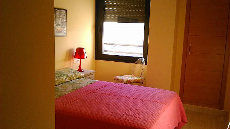 Dormitorio - Apartamento en alquiler de temporada en calle General Urrutia, Ciutat de les Arts i les Ciències en Valencia - 149136980