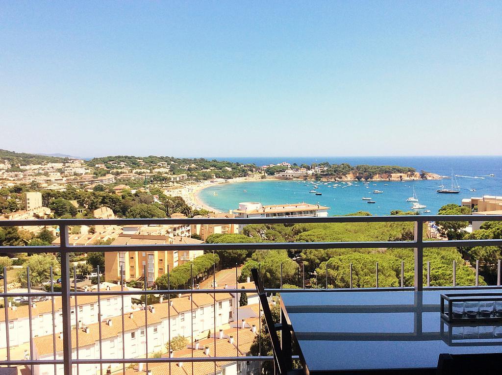Terraza - Ático en alquiler de temporada en carretera De Palamós, Sant Feliu de Guíxols - 300290426