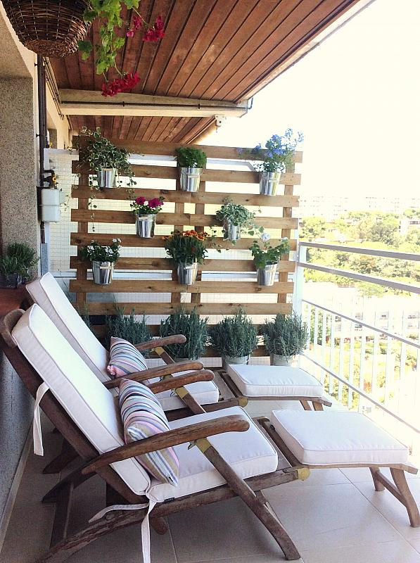 Terraza - Ático en alquiler de temporada en carretera De Palamós, Sant Feliu de Guíxols - 300290429