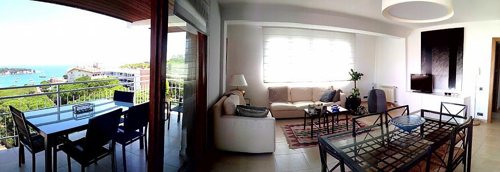 Salón - Ático en alquiler de temporada en carretera De Palamós, Sant Feliu de Guíxols - 300290430