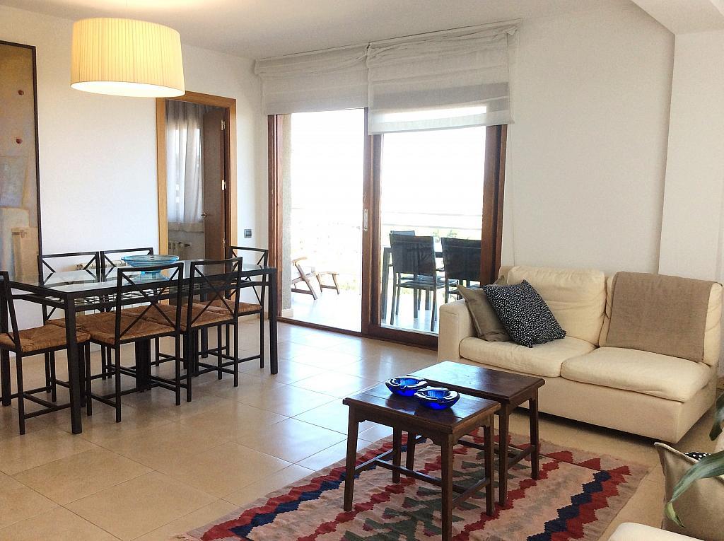 Salón - Ático en alquiler de temporada en carretera De Palamós, Sant Feliu de Guíxols - 300290439