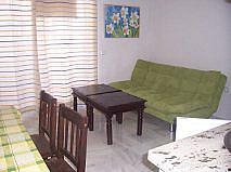 Salón - Piso en alquiler en calle Rosita Ferrer, Roquetas de Mar - 124427039