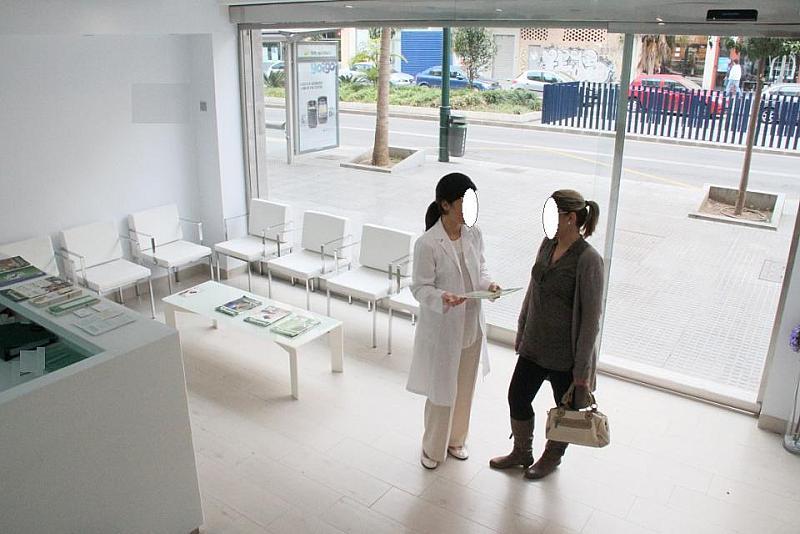 Vestíbulo - Oficina en alquiler en calle Salitre, Centro en Málaga - 142388787