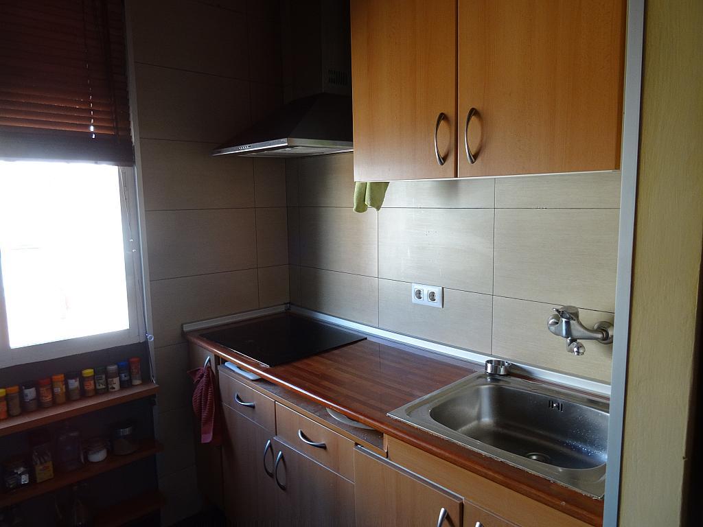 Cocina - Ático en alquiler en calle Jerónima Llorente, Bellas Vistas en Madrid - 349744492