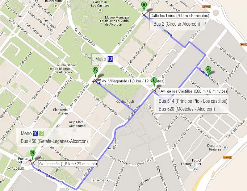 Vistas - Oficina en alquiler en calle Mercurio, Alcorcón - 189782609