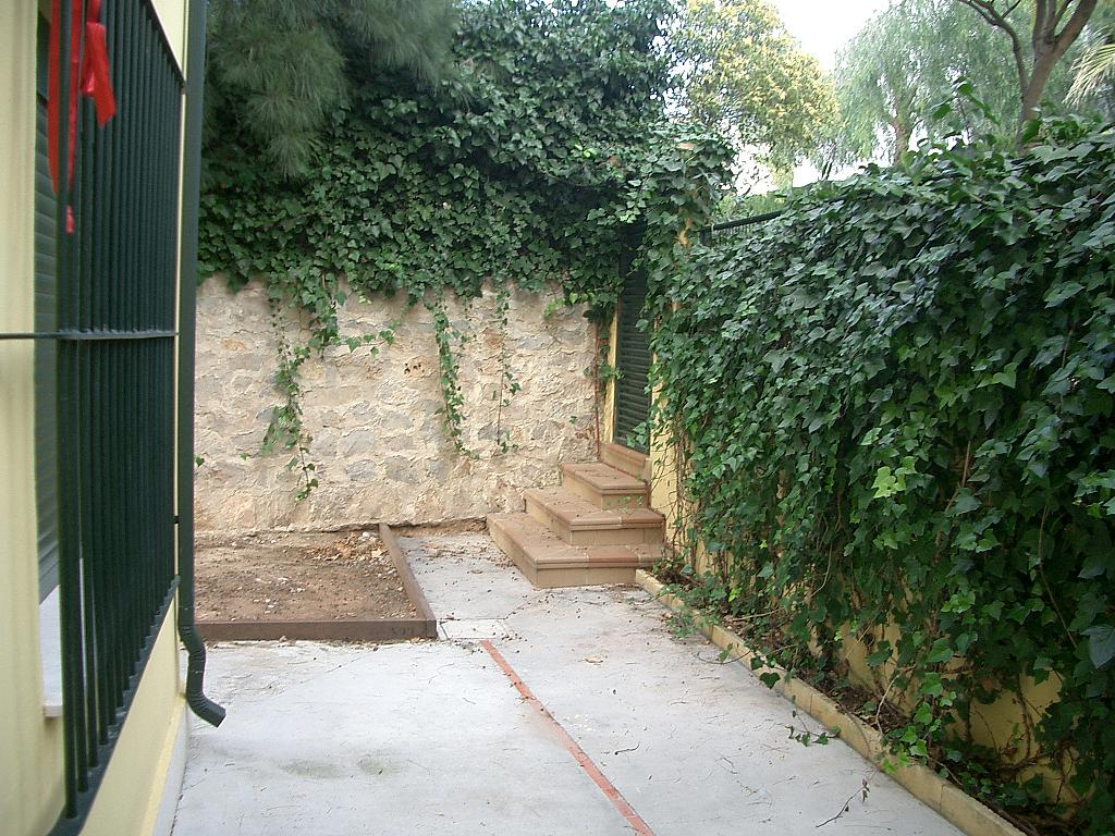 Jardín - Apartamento en alquiler en calle Cortes Valencianas, Rocafort - 330145109