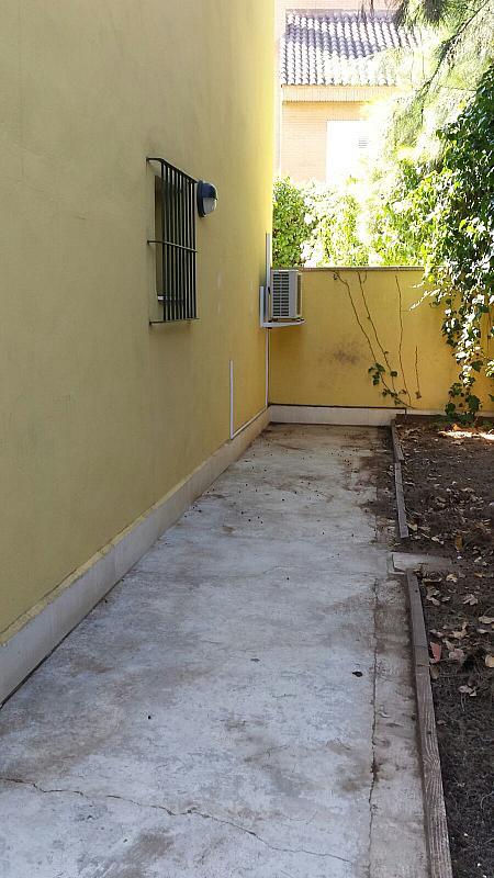 Jardín - Apartamento en alquiler en calle Cortes Valencianas, Rocafort - 330145114