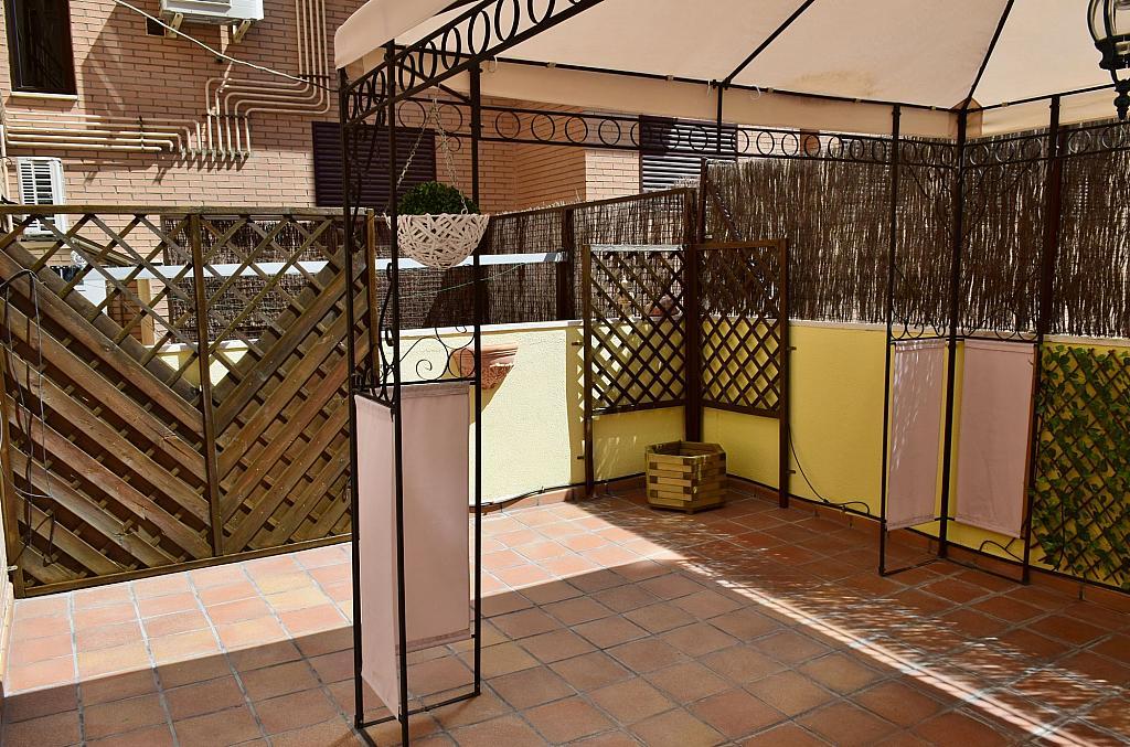 Terraza - Piso en alquiler en calle Monaco, Rosas-Musas en Madrid - 301812978