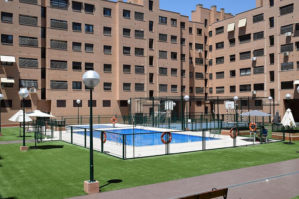 Piscina - Piso en alquiler en calle Monaco, Rosas-Musas en Madrid - 301813020