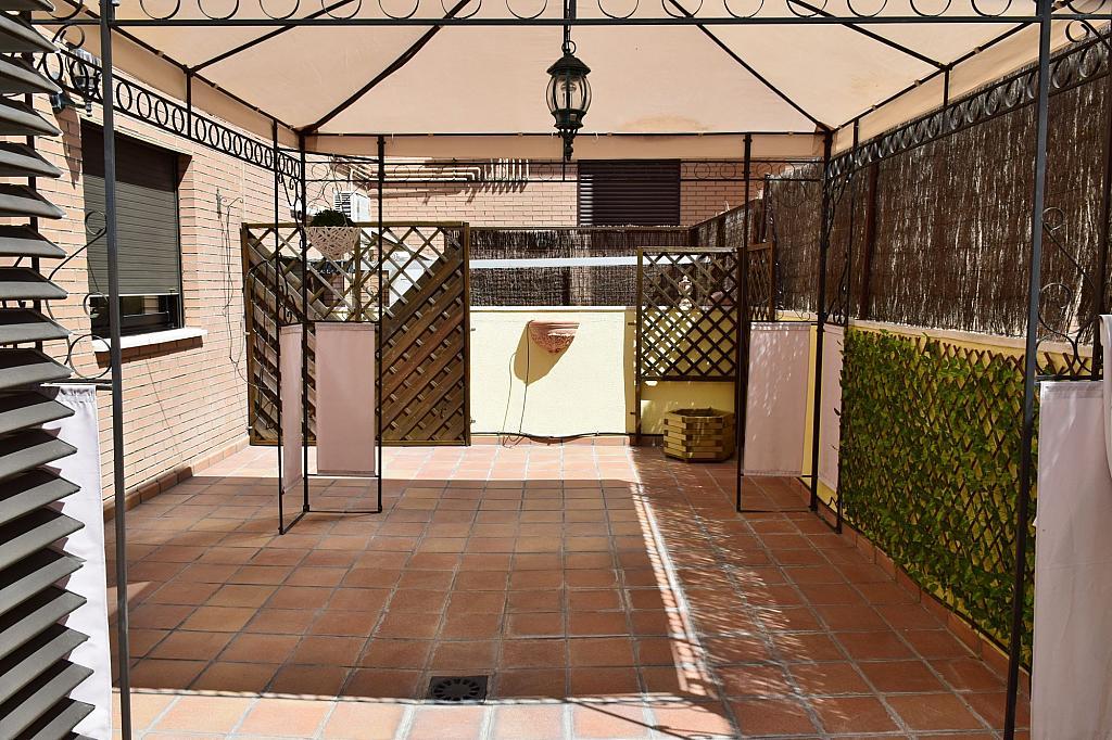 Terraza - Piso en alquiler en calle Monaco, Rosas-Musas en Madrid - 301813694