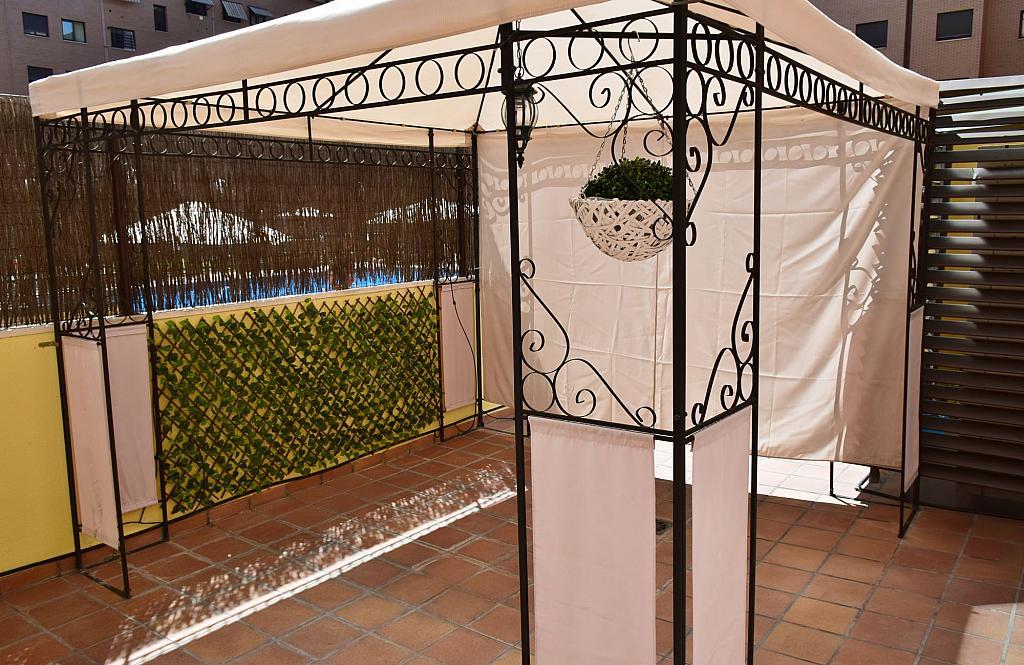 Terraza - Piso en alquiler en calle Monaco, Rosas-Musas en Madrid - 301813728