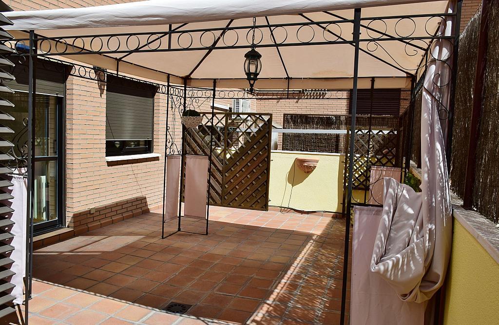Terraza - Piso en alquiler en calle Monaco, Rosas-Musas en Madrid - 301813772