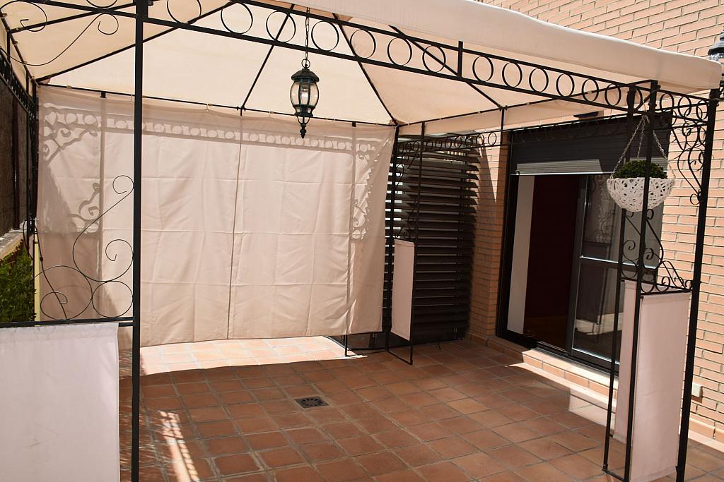 Terraza - Piso en alquiler en calle Monaco, Rosas-Musas en Madrid - 301813799