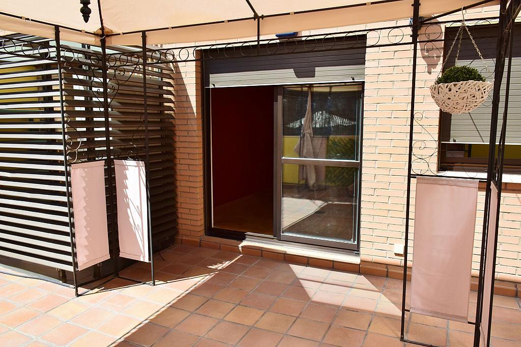 Terraza - Piso en alquiler en calle Monaco, Rosas-Musas en Madrid - 301813805